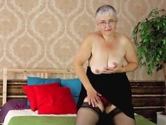 solo stocking mature