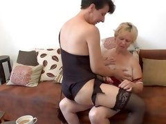 mature mom horny